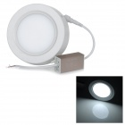 7W 630lm 7000K 35-SMD 2835 LED White Round Ceiling Panel Light - White (AC 85~265V)