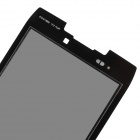 Replacement LCD Touch Screen with Front Frame for Motorola XT910 - Black