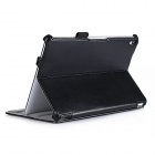 Fashion Protective PU Leather Flip Open Case for Google Nexus 9 - Black