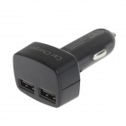 WM89 Universal Dual USB Output billader m / Spenning / Current Display for iPhone / Samsung + More