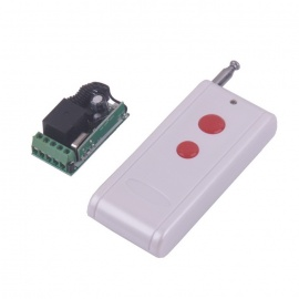 ZnDiy-BRY Mini 1CH 2-Button Remote Control Switch System-Receiver & Transmitter