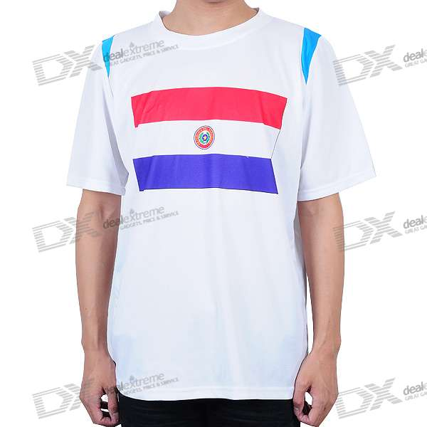 National Football/Soccer Team T-Shirt - Paraguay (XXL-Size)