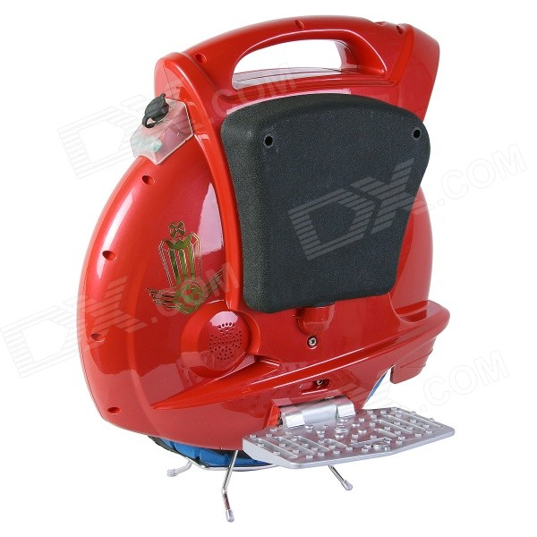 цены  Dikalen S380 Electric Self-Balancing Bike Motor Unicycle Monocycle Mini Solo Scooter - Red + Black