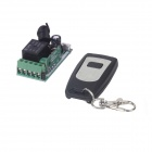 ZnDiy-BRY 12V Mini Wireless Remote Control Switch + Single Button Controller - Black + Light Grey