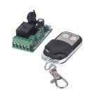 ZnDiy-BRY 12V Mini Wireless Remote Control Switch +Two Keys Metal Push Cover Remote Control