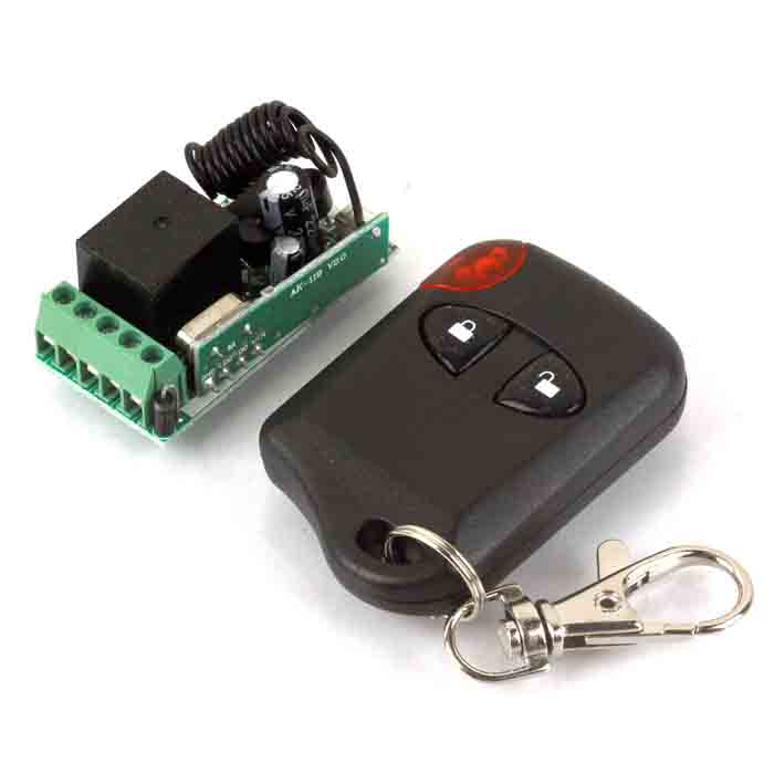 DIY Electronics 364514 ZnDiy-BRY 12V Mini Wireless Remote Control Switch + Two-Button Controller