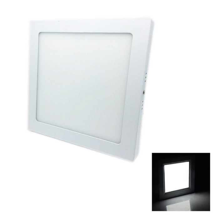 20W 1620lm 6000K 90-SMD 2835 LED White Ceiling Panel Light