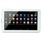 "9 ""TFT Android 4.4 Quad-Core 3G Tablet PC met 8 GB ROM, Dual SIM, Bluetooth - Wit + Goud"