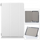 Fashion Protective PU Case w/ Stand for Google Nexus 9 - White