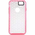 NILLKIN Hollow-out Ultra-thin Protective TPU Back Cover Case for IPHONE 6 - Pink + Transparent