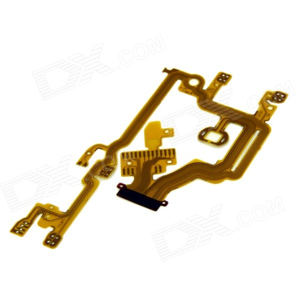 Camera Repair Parts Lens Back Flex Cable for Canon Powershot A3300 / A3200 / PC1589 - Golden (8cm) free shipping d5300 rear back cover shell for nikon d5300 with key buttons fpc flex cable camera repair parts