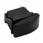 MaiTech 12V 20A / 24V 10A Car Switch with Green Light - Black