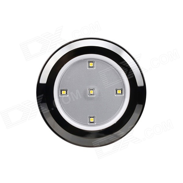 Lightmates CL017 0.3W 30lm 3000K 5-LED Warm White Decorative Cabinet / Mirror Light - Gray (4.5V)