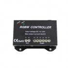 LED 384W 4-Channel 16-Key RF Controller for RGBW Light Strip - Black (DC 12~24V)