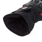 PRO-BIKER DXMS-09 Motorcycle Thickened Warm PU + Polyester Racing Gloves - Black + Red (Pair / L)