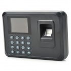 "2.4 ""TFT Screen Employee Attendance Digital Fingerprint Enregistreur Horloge - Noir"