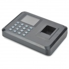 "2.4"" TFT Screen Employee Attendance Digital Fingerprint Time Clock Recorder - Black"