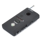 Anti-Spy Rechargeable RF Wireless Pinhole Bug Detector w/ Compass (1MHz~6.5GHz)