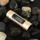 "0.9"" TFT Screen Waterproof Cylindrical MP3 Player - Golden (8GB)"