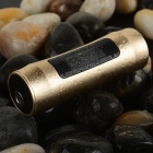 "0.9"" TFT Screen Waterproof Cylindrical MP3 Player - Golden (4GB)"