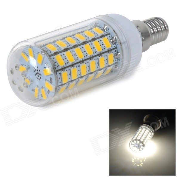 e14 10w 900lm warm white 5730 smd led corn bulb lamp ac 220 240v free shipping dealextreme. Black Bedroom Furniture Sets. Home Design Ideas