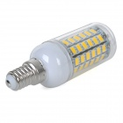 E14 10W 900lm Warm White 5730 SMD LED Corn Bulb Lamp (AC 220~240V)