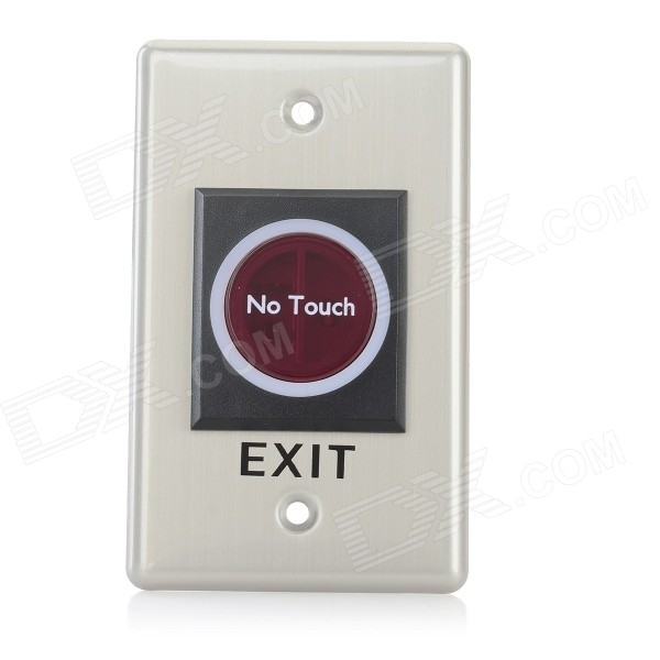 DK001 IR Door Release Switch for Electric Access Control - Silver