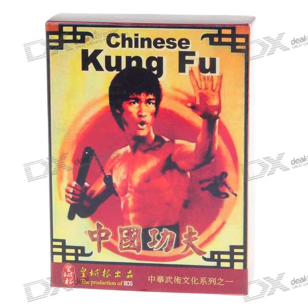 Collector's Theme Poker Card - Bruce Lee (54-Sheet Deck)