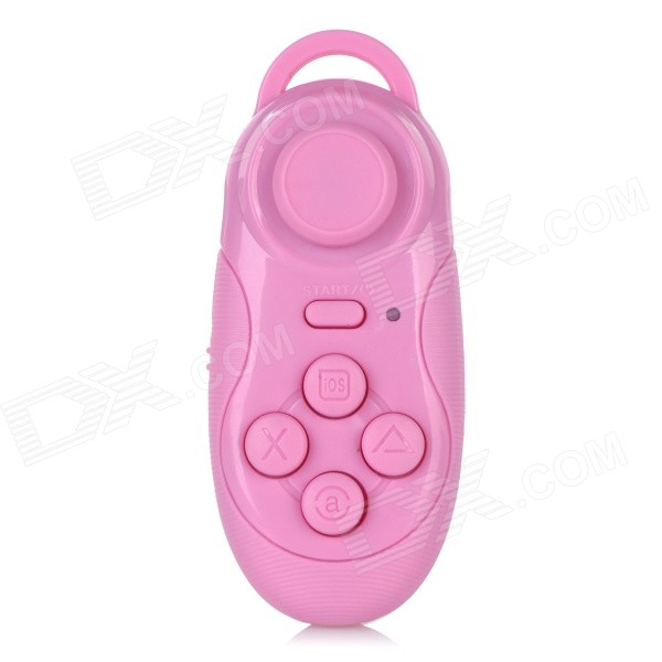 Multi-Functional Bluetooth v3.0 Self-Timer / Game Controller for IPHONE / Samsung / Sony - Pink