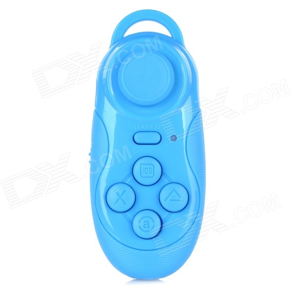 Multi-Functional Bluetooth v3.0 Self-Timer / Game Controller for IPHONE / Samsung / Sony - Blue