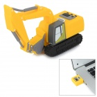 Buy Mini Artificial Excavator Style USB 2.0 Flash Drive - Yellow + Black (4GB)