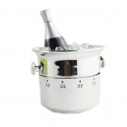 FEIS GS 1001 Champagne Bucket Style Timer - Silver