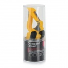 Mini Artificial Excavator Style USB 2.0 Flash Drive - Yellow + Black (8GB)