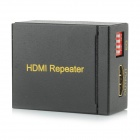 1080P HDMI Female to Female Amplified Extender / Repeater - Black