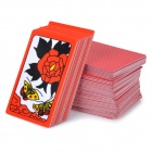 Korean Gostop Godori Hwatu Cards Table Game - Red + Black + Multicolored