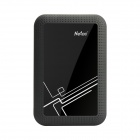 "Netac K360 500GB USB 3.0 2.5"" External Hard Drive HDD - Black + Orange (500GB)"