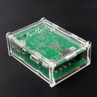 "Acrylic Case for 3.5"" PI TFT and Raspberry Pi B+ - Transparent"