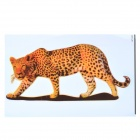 Leopardo patrón auto cuerpo papel Sticker Decal - Color leopardo