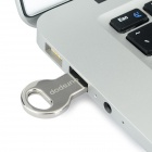 Ourspop OP-511 Key Style Ultra-thin Portable Mini USB 2.0 Flash Drive - Silver (4GB)