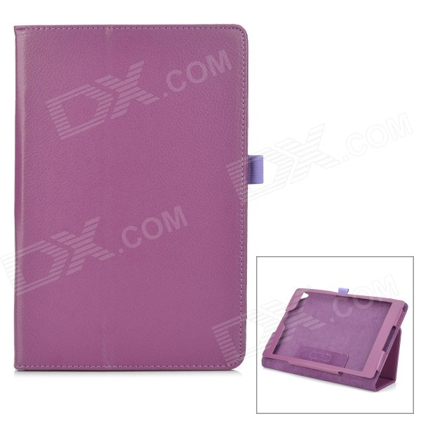 Protective PU Leather Smart Case w/ Stand for Google Nexus 9 - Purple
