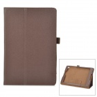 Protective PU Leather Case w/ Stand for Google Nexus 9 - Brown