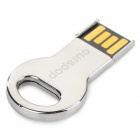 Ourspop OP-511 Mini Key Style USB 2.0 Flash Drive - Silver (32GB)