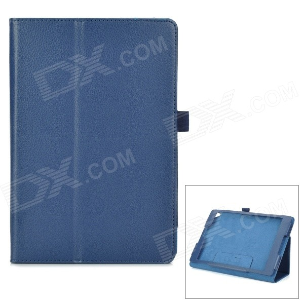 Protective PU Leather Smart Case w/ Stand for Google Nexus 9 - Blue