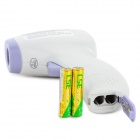 "HTD8808 1.5"" LCD Non-Contact Infrared Body Thermometer - Purple + White (2 x AAA)"