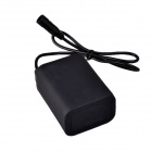SingFire 6600mAh 8.4V 6 x 18650 Li-ion Batteries Pack w/ Silicone Pouch for LED Bike Lamp Light