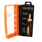 22-in-1 Repair Screwdrivers Tool Set - Orange + Black + Silver