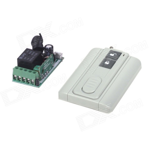 Фото - ZnDiy-BRY 12V Mini Wireless Remote Control Switch + Ultra-thin Two Buttons Remote Control chunghop rm l7 multifunctional learning remote control silver