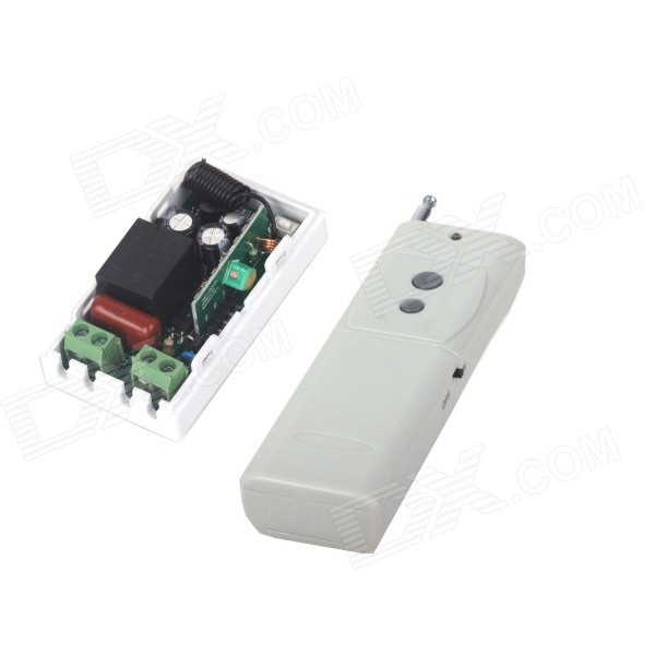 Фото - ZnDiy-BRY 220V 1-CH Remote Control Switch + High Power Two Buttons Remote Control chunghop rm l7 multifunctional learning remote control silver