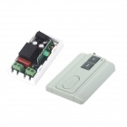 ZnDiy-BRY 220V 1-CH Remote Control Switch + Ultra-thin Two Keys Remote Control