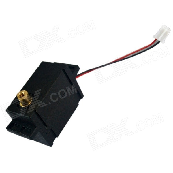 DC 3.0V 50rpm High Torque Micro Gear Motor - Black